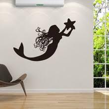 Mermaid Home Decor Popular Mermaid Wall Decor Buy Cheap Mermaid Wall Decor Lots From