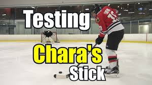 beer leaguers try using chara u0027s stick youtube