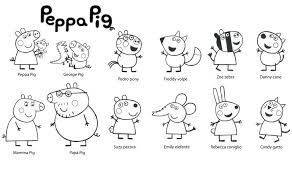 peppa pig valentines coloring pages peppa pig coloring pages with car family within remodel 3 24itv info