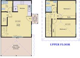 2 Storey House Plans 3 Bedrooms Beautiful 2 Bedroom Granny Flat Floor Plans 3 Floor Plan 2