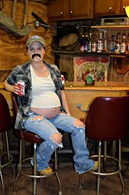 maternity halloween costume which is so funny beer belly redneck