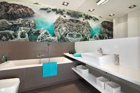 bilder badezimmer badezimmer ideen für kleine bäder mit fototapeten