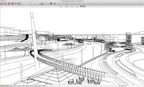 quick concept sketching using sketchup and photoshop sketchup