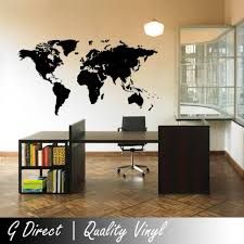 map of the world wall sticker vinyl decal home mural giant graphic map of the world wall sticker vinyl decal home mural giant graphic transfer art amazon co uk kitchen home