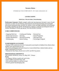 nanny resume template 100 nanny resume example event planning