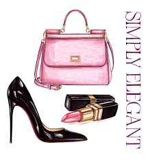 simply fashions simply illustration inspired by accessories fashions
