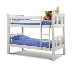 White Pine Bunk Beds Happy Beds Barcelona Standard Two Sleeper Quality White Pine Wood