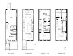 brownstone floor plans delson or sherman architects pceast harlem brownstone floor plans