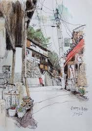kieah kiean chursh 01 water color pinterest sketches