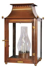 French Quarter Gas Lanterns by Williamsburg Lantern On Column Mount Traditional Wall Lighting