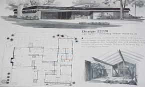mid century home plans baby nursery mid century modern ranch house plans mid century