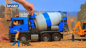 bruder toys cement mixer truck construction trucks for children