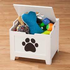 Create Your Own Toy Chest by How To Teach Your Dog To Clean Up His Own Toys Toy Dog And House