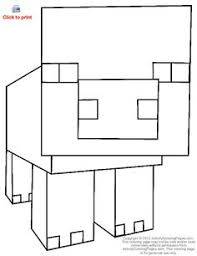 coloring pages minecraft pig how draw minecraft drawings minecraft pinterest minecraft