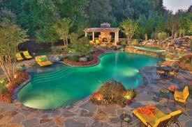 Backyard Swimming Pool Designs Swimming Pool U0026amp Yard Adorable Backyard Swimming Pool Design