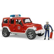 bruder toys bruder man fire engine deluxe toy fire truck educational toys