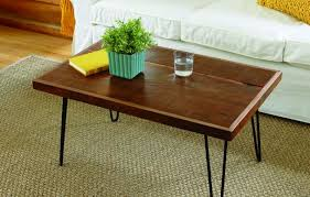 Hairpin Legs Coffee Table How To Build A Hairpin Leg Coffee Table This House