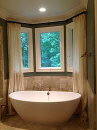 Bathroom Bay Window Bathrooms Bay Window Curtains Bathroom Bay Window Treatments