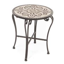 Patio Side Tables Metal Patio Side Table Home Design Ideas And Pictures