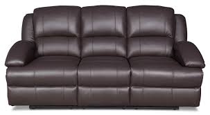 Black Leather Reclining Loveseat Furniture Appealing Leather Reclining Couch For Decorating Your