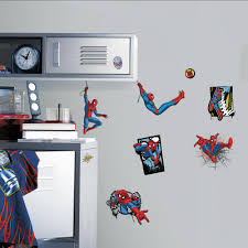 roommates mickey and friends peel and stick wall decals rmk1507scs ultimate spider man comic 17 piece peel