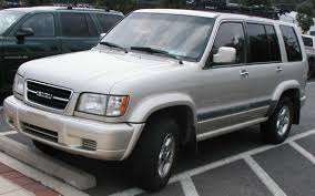 isuzu trooper description of the model photo gallery