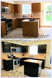 painting oak kitchen cabinets before and after u2013 stadt calw