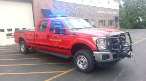 2011 Ford F250 Utility Truck - arnods park okoboji fire and rescue new utility truck youtube