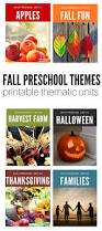 fall thematic units on sale now no time for flash cards