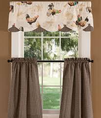clever design ideas kitchen curtains valances patterns target