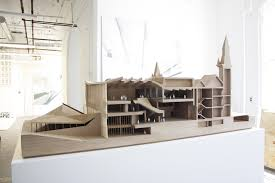 Home Design Blog Toronto Nadaaa Blog C3 A2 C2 Bb Model Making The Completed On Display At