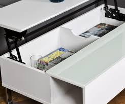Table Basse Bambou Maison Du Monde Table Basse Design Reglable Blanche Avec Rangement Lola U2013 Phaichi Com