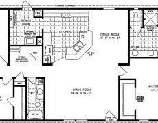 1800 Square Feet Pretentious Design Ranch House Plans Under 1700 Sq Ft 15 Square