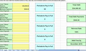 Excel Debt Payoff Template Debt Payoff Template Credit Card Debt Payoff Spreadsheet Debt