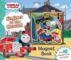 thomas friends engines rescue magnet book