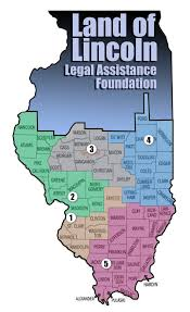 Map Of Central Illinois by Office Locations Land Of Lincoln Legal Assistance Foundation