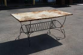abe54metaltable03 vintage patio table tables fabulous photo ideas