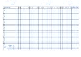 Attendance Sheet Template Excel Free Attendance Sheet Template Exle In Excel