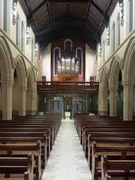 church glass doors overton architects st williams church bradford