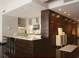 dark wood paneling horizontal wood paneling applied in different rooms decohoms