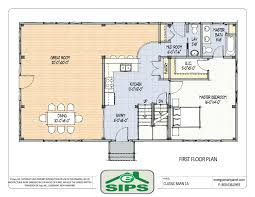 Open Floor Plan Log Homes House Floor Plans With Dimension On 3 Story Log Homes Planssmall