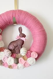 Cute Easter Door Decorations by Creative And Easy Diy Easter Wreaths