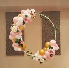 30th birthday flowers and balloons floral balloon ring pinteres