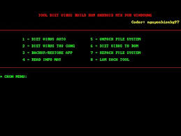 virus detector android demo tools diệt virus build rom android mtk