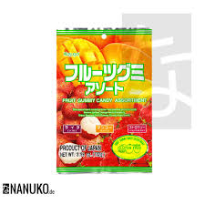 lychee fruit candy kasugai gummy candy fruit mix nanuko de asia onlineshop