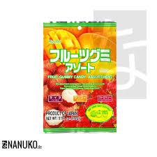 lychee fruit candy kasugai gummy candy fruit mix nanuko de asia onlineshop