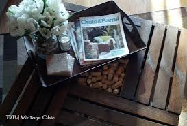 How To Make Wine Crate Coffee Table - coffee table attractive 25 best crate coffee tables ideas on