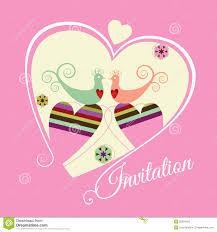 Betrothal Invitation Card Engagement Invitation Stock Images Image 18514174