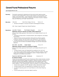100 good resume summary for entry level strong objective