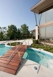 home pool 25 fascinating pool bridge ideas that leave you enthralled